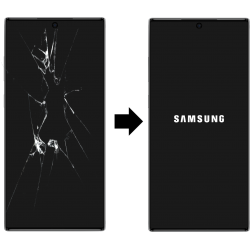 Výměna skla Samsung Galaxy Note 10 Plus