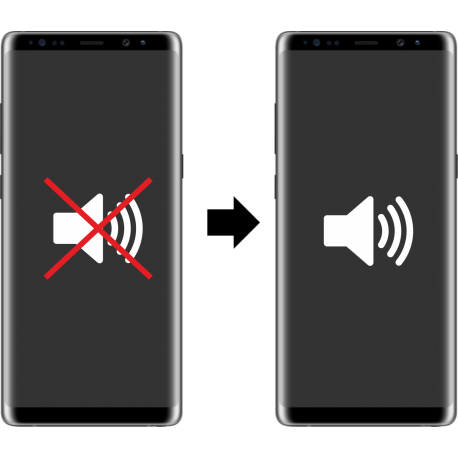 Výměna sluchátka / reproduktoru Samsung Galaxy Note 8