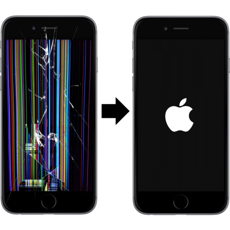 Výměna displeje iPhone 8