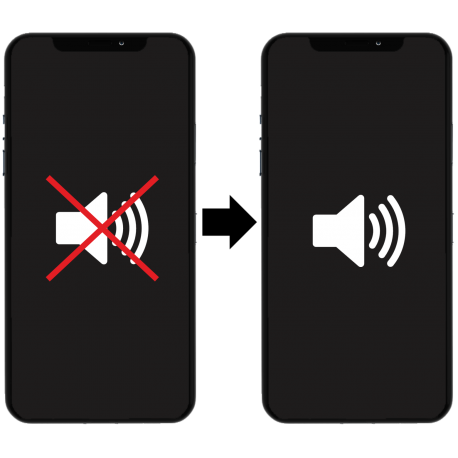 Výměna sluchátka / reproduktoru iPhone X