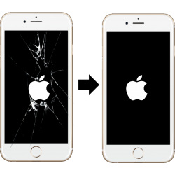 Výměna skla LCD iPhone 6 Plus